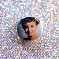 "1"" Laura Palmer Button /  Twin Peaks Pin"