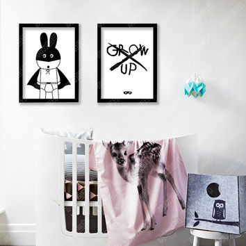 New Nordic Decoration Wall Art Canvas Painting Batman Posters And Prints Wall Pictures For Living Room Cuadros No Poster Frame
