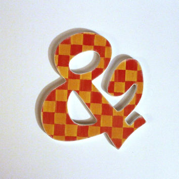 Wood Ampersand Custom Photo Prop
