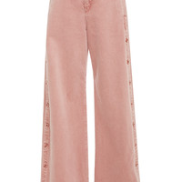 Button Down Denim Wide Leg Jen | Moda Operandi
