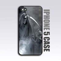 Grim Reaper Goth Emo - For iPhone 5 Black Case / Cover