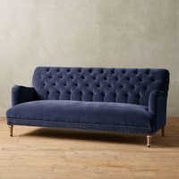 Velvet Orianna Sofa by Anthropologie