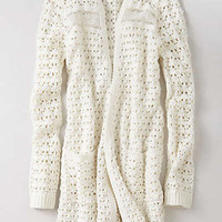Anthropologie - Blythe Eyelet Cardigan