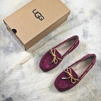 2018 UGG Purple Milana Loafer Flats - Best Online Sale
