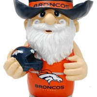 "Denver Broncos Second String Thematic 11"" Garden Gnome"