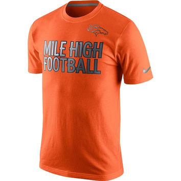 Denver Broncos Nike Reflective Pack T-Shirt - Orange