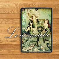 mermaid,iPad Air Case,iPad 2 case,iPad 3 case,iPad Mini Case,iPad Mini 2,iPad 4 case,New iPad,iPad Air Cover,iPad Mini Cover,iPad Cover