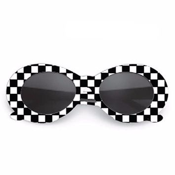 Checkered Kurt Cobain Shades