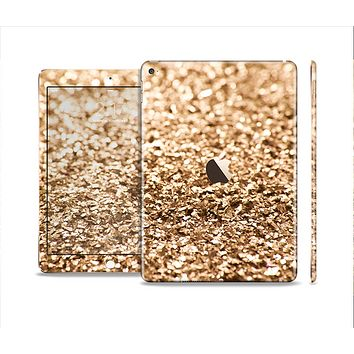 The Gold Glimmer V2 Skin Set for the Apple iPad Air 2