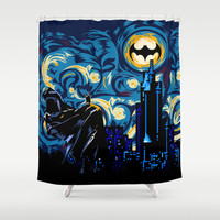 Starry Knight iPhone 4 4s 5 5c 6, pillow case, mugs and tshirt Shower Curtain by Three Second