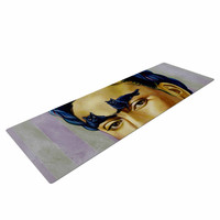 "Jared Yamahata ""Frida Katlo"" Blue People Yoga Mat"
