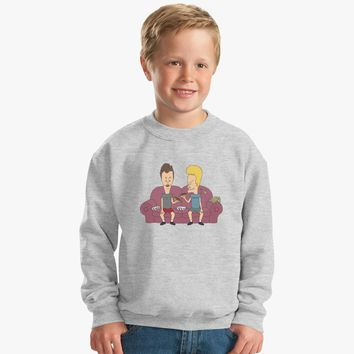 Beavis And Butthead Kids Sweatshirt