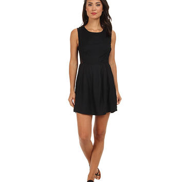 RVCA Woodruff Dress Black - 6pm.com
