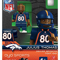 Julius Thomas Oyo Denver Broncos Football Nfl Mini Figure Lego Compatible G2