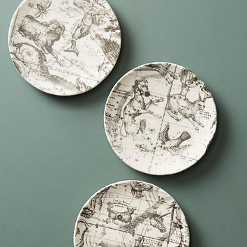 Astrology Chart Canape Plate