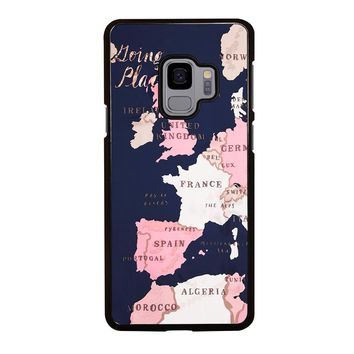 KATE SPADE GOING PLACES Samsung Galaxy S3 S4 S5 S6 S7 S8 S9 Edge Plus Note 3 4 5 8 Case