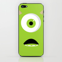 Mike iPhone & iPod Skin by Bearded Manatee