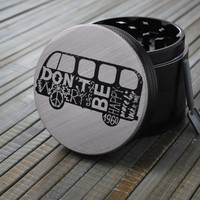 CalSea // 4 Piece Herb Grinder - No Worries