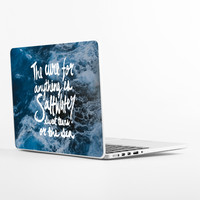 Saltwater Big Sur Laptop Skin
