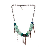 Amazonite Chryscolla Necklace