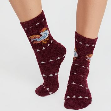 Everglades Slipper Sock