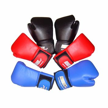 1 Pair Kids  Leather Boxing Gloves