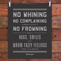 Hammerpress | No Whining Art Print
