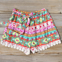 Flowerchild Lace Shorts