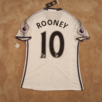 Manchester United 2016/17 Rooney Third kit Soccer Jersey