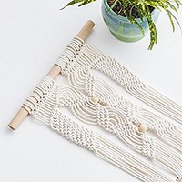 Plant Hanger,YXMYH Macrame Plant Hanger Hanging Planter Wall Art vintage-inspired 41Inch