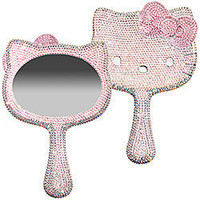 Sephora: Hello Kitty Crystal Dipped Handheld Mirror Made With Swarovski Elements: Mirrors