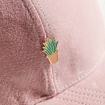 Bermuda Press Aloe Lapel Pin - Urban Outfitters