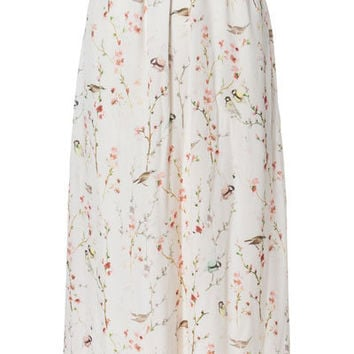 LONG CROSSOVER JAPANESE PRINT DRESS - Dresses - TRF - ZARA Denmark