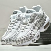 NIKE AIR MAX 95 QG QS new fashion men more letter sports shoe White