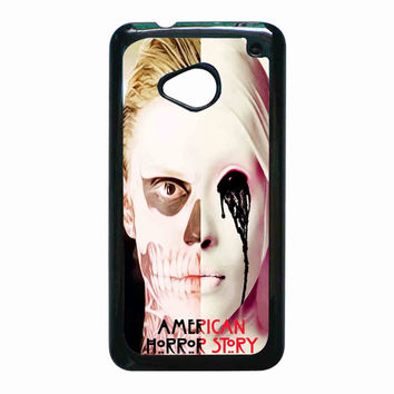 american horror story asylum tate langdon Design for HTC One M7 case *02*