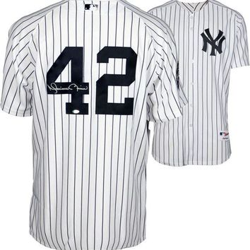 ONETOW Mariano Rivera Signed Autographed New York Yankees Baseball Jersey (Steiner COA)