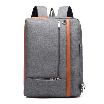 Cool Backpack school CoolBELL Multi-functional Convertible Backpack Shoulder bag Laptop Backpacks Casual Travel Bag Fits 17.3 Inch Notebook Computer AT_52_3