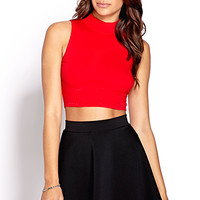 Fresh Ribbed Crop Top