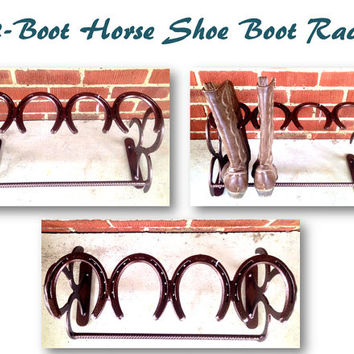 Horseshoe Boot Rack 2-Pair