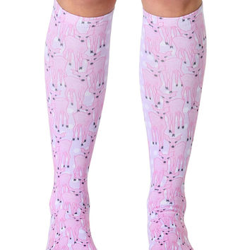 Fawn Knee High Socks