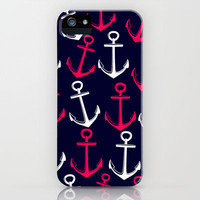 Anchors away! iPhone & iPod Case by Jordan Virden