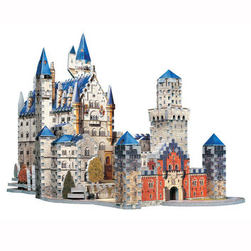 Puzz 3D Neuschwanstein Castle at Brookstone—Buy Now!