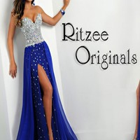 Ritzee Girls 2448 Prom Dress 2014