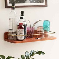 Brass Bar Shelf