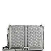 Rebecca Minkoff - Quilted Love Jumbo Leather Crossbody Bag - Saks Fifth Avenue Mobile