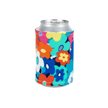 Monogrammed Print Coozie
