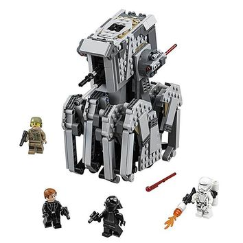 Star Wars Force Episode 1 2 3 4 5 The First Order Heavy Scout Walker Bricks Compatible With Legoing  75177 Model Building Blocks Boys Birthday Gift Toys AT_72_6
