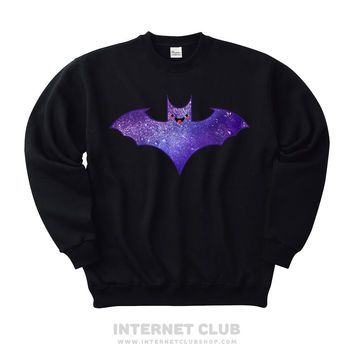 Pastel Goth Kawaii Bat Sweatshirt