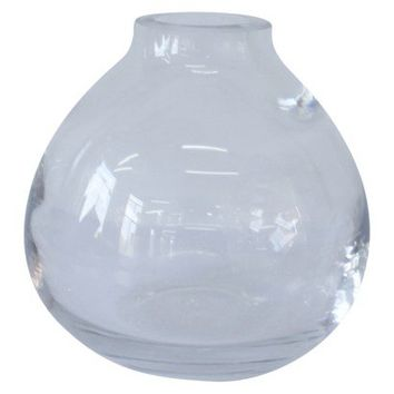Table Vase Target Glass 6.125in