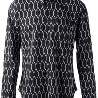 Kenzo Lattice Print Shirt